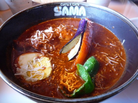 札幌 グルメ スープカレー SAMA