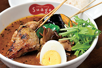 soup curry Suage + 本店