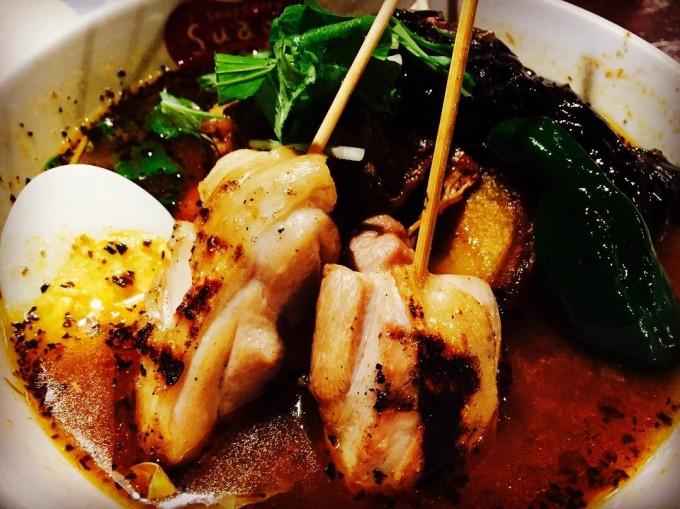 soup curry Suage + 本店(札幌市中央区)