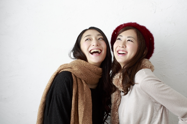 北海道弁を話す女性