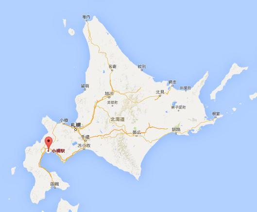 小幌駅の場所