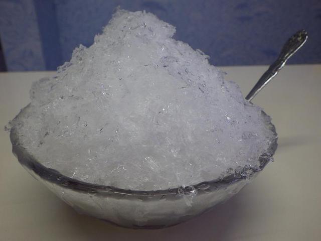 おやきの平中かき氷