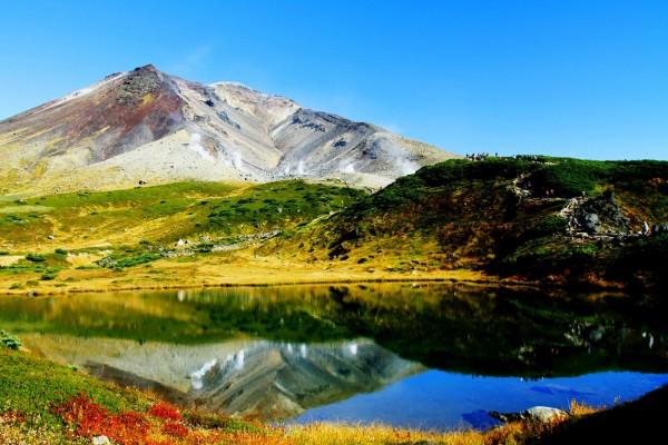 北海道・旭岳の「沼の平」