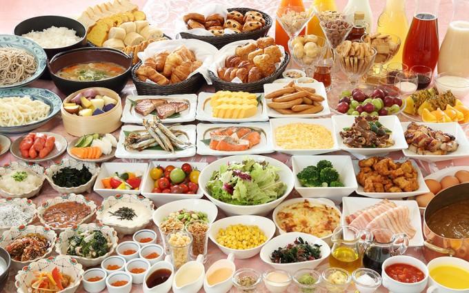 ホテルモントレ エーデルホフ札幌 朝食ビュッフェ
