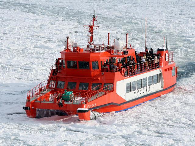 紋別 流氷砕氷船ガリンコ号Ⅱ