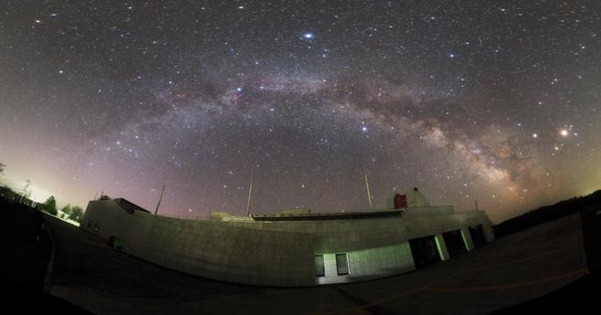 りくべつ宇宙地球科学館 銀河の森天文台(陸別町 )
