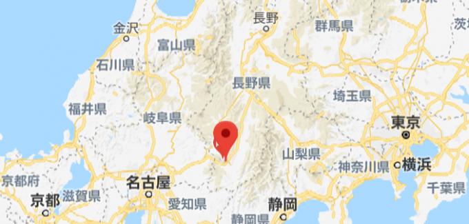 阿智村の場所とアクセス