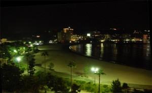 白良浜 夜景