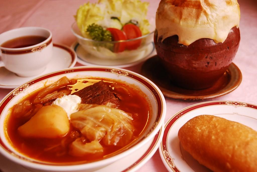 バラライカのロシア料理