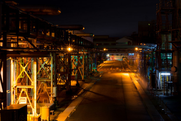 関西熱化学付近 夜景