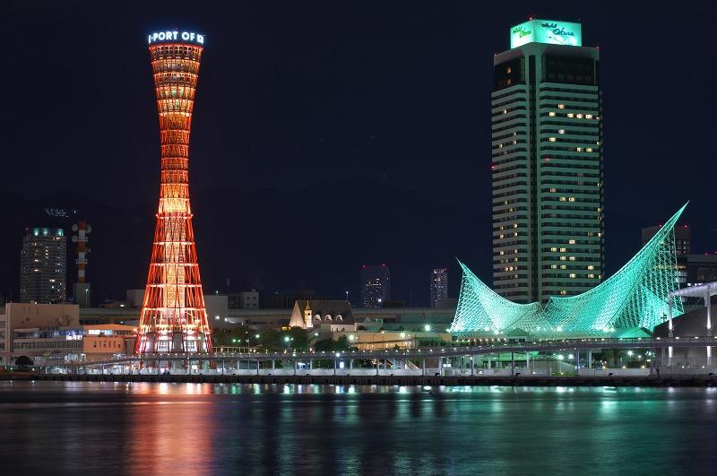神戸ハーバーランドumie(ウミエ)夜景