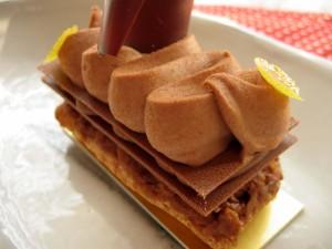 パリ セヴェイユ チョコレートケーキ
