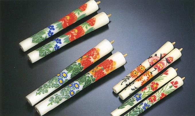 伝統工芸品 「会津絵蝋燭(ろうそく)」