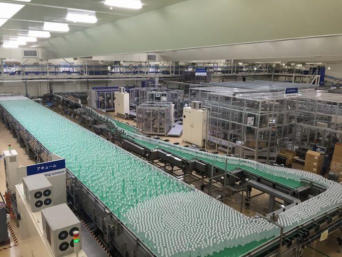 アサヒ飲料富士山工場