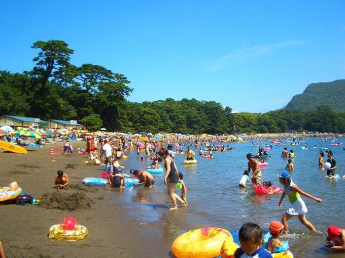 伊豆の海水浴場