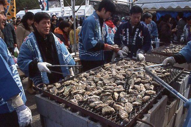 広島のかき祭り