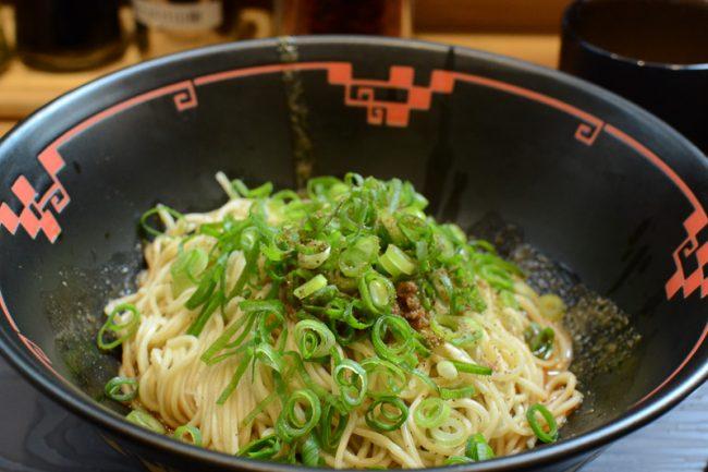 汁なし坦坦麺専門 キング軒の広島式汁なし担坦麺