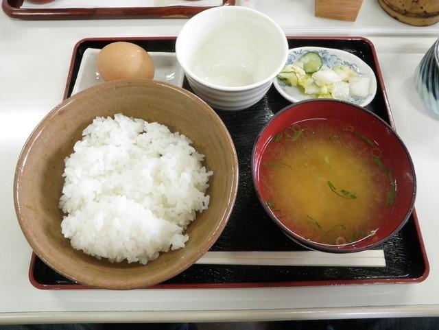 黄福(卵かけご飯)定食
