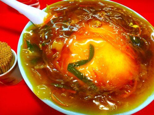 蓬莱の天津丼