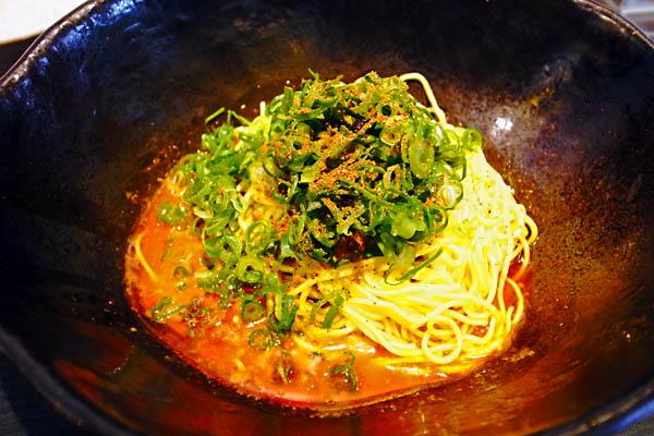 広島 汁なし担々麺 キング軒