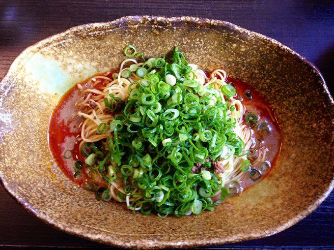 広島 汁なし担々麺  武蔵坊