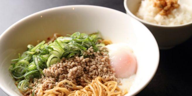 広島 汁なし担々麺 赤麺 梵天丸