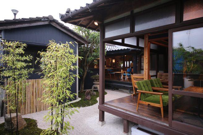 島根県 カフェ Cafe LINQ Takasegawa