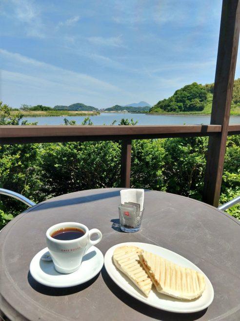 島根県 カフェ カフェロッソ