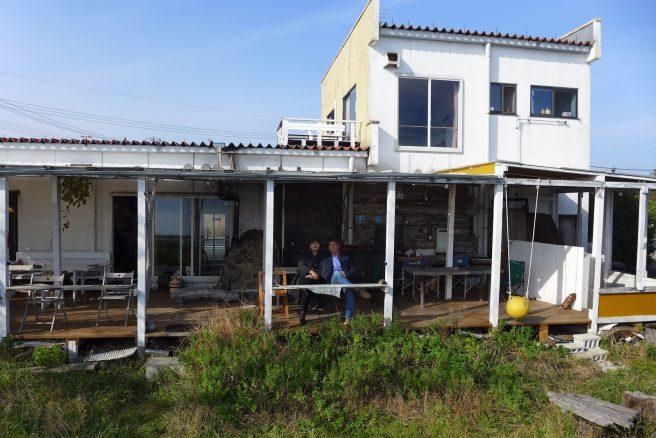 島根県 カフェ 海辺のcafe HOME