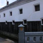 倉吉市に残る旧城下町・倉吉白壁土蔵群のレトロな街並み