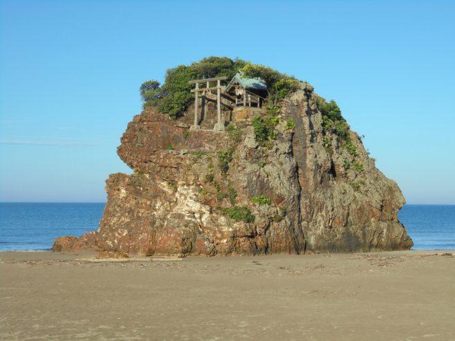 島根 パワースポット 稲佐の浜