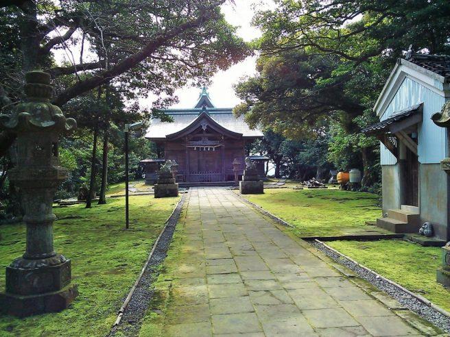 鳥取パワースポット 粟嶋神社