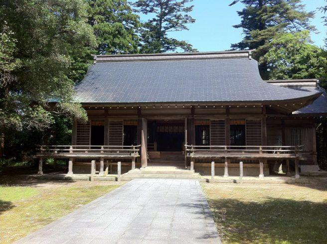 鳥取パワースポット 倭文神社