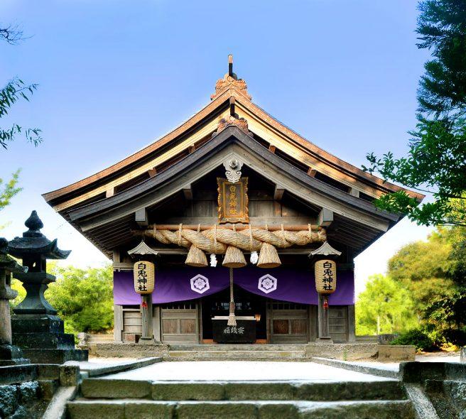 鳥取パワースポット 白兎神社
