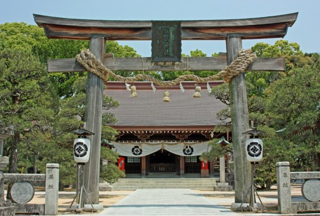 山口パワースポット 松陰神社