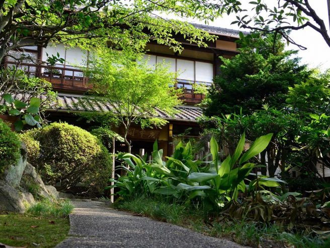 庭園旅館備後屋