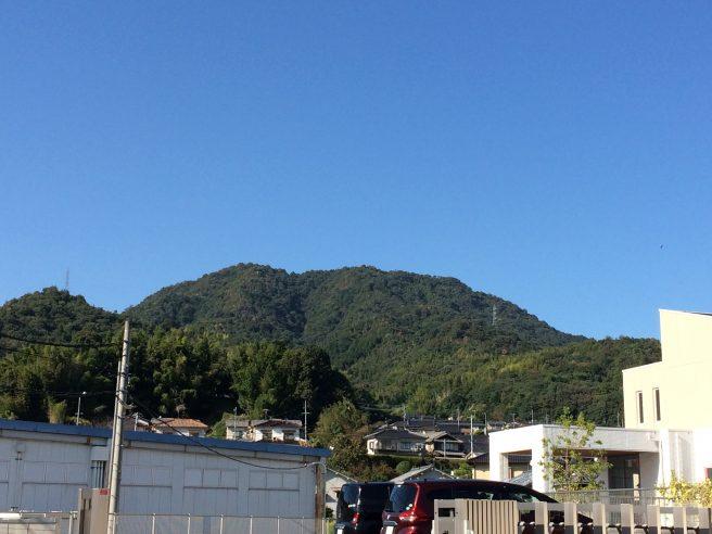 武田山(銀山城)