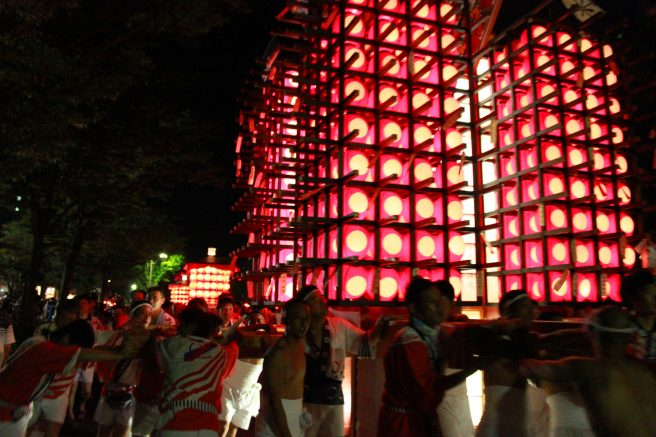 山口中心商店街 祭り