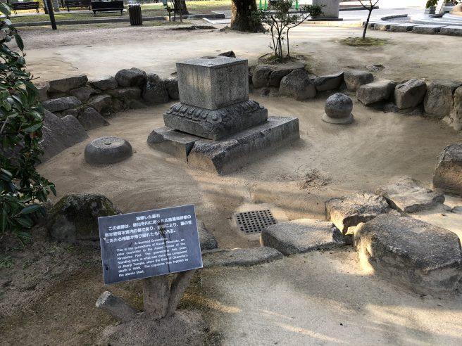 慈仙寺跡の墓石