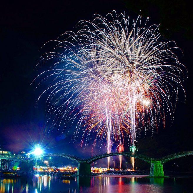 錦川水の祭典花火大会
