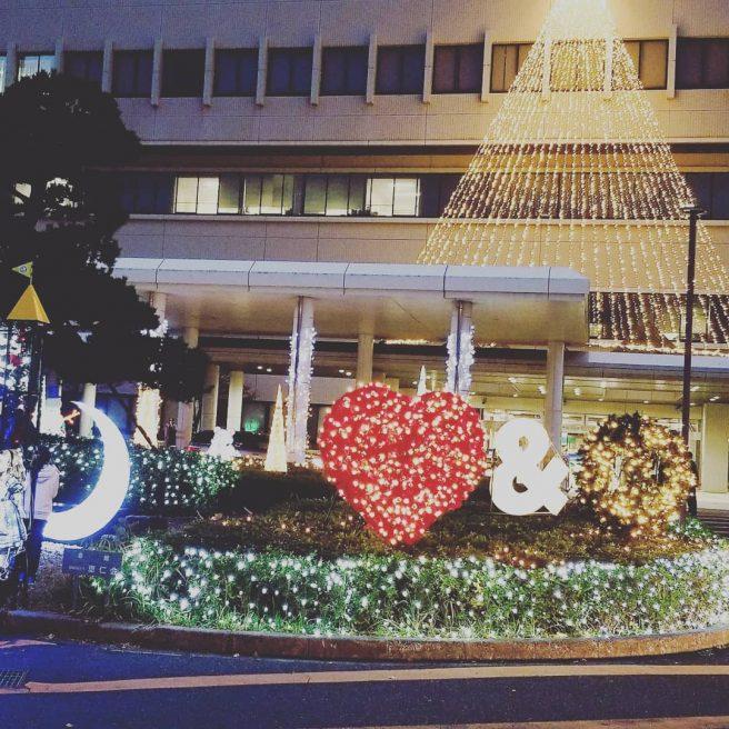 鳥取大学医学部付属病院イルミネーション