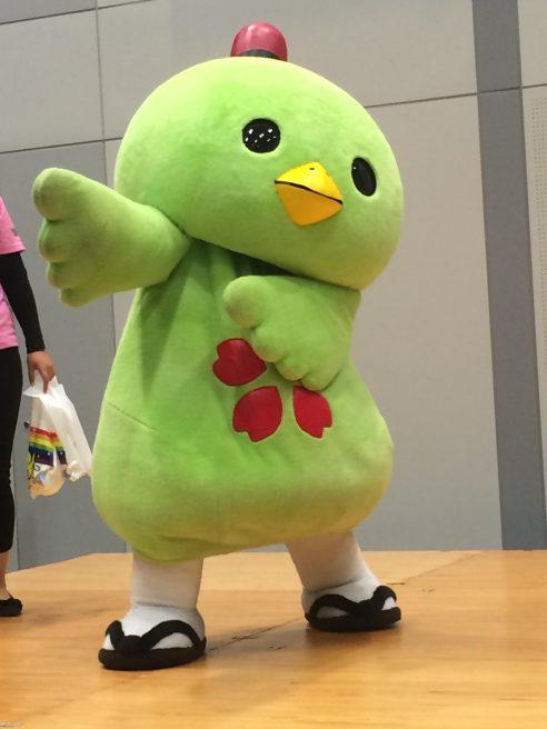 岡山県 ゆるキャラ やかっぴー