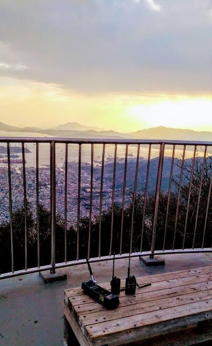 灰ヶ峰展望台