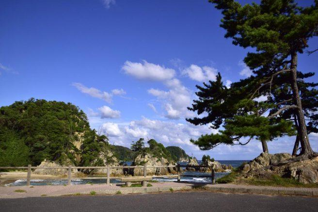 西脇海岸 駐車場