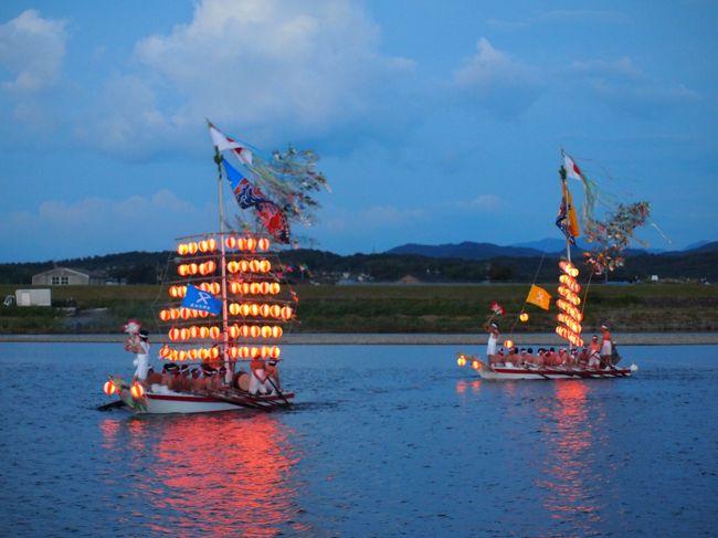 益田水郷祭 ホーランエー