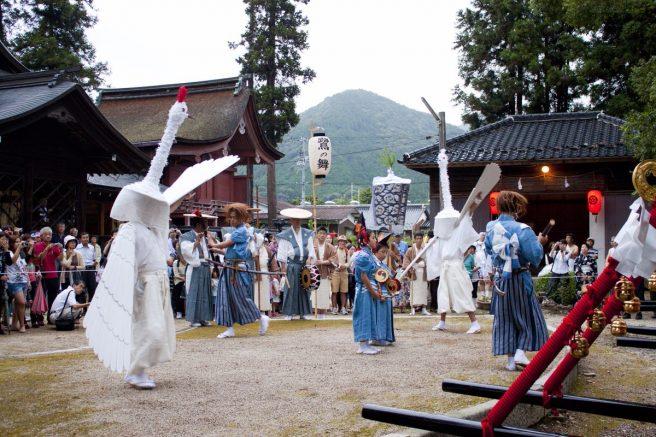 山口祇園祭 鷺の舞