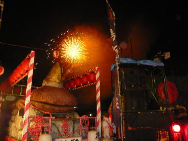 湯原温泉はんざき祭り