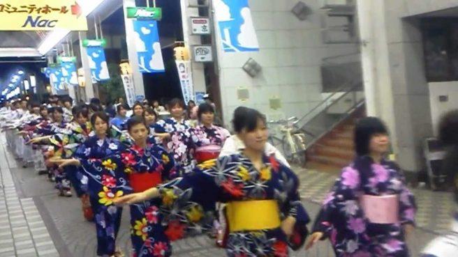 山口祇園祭 市民総踊り