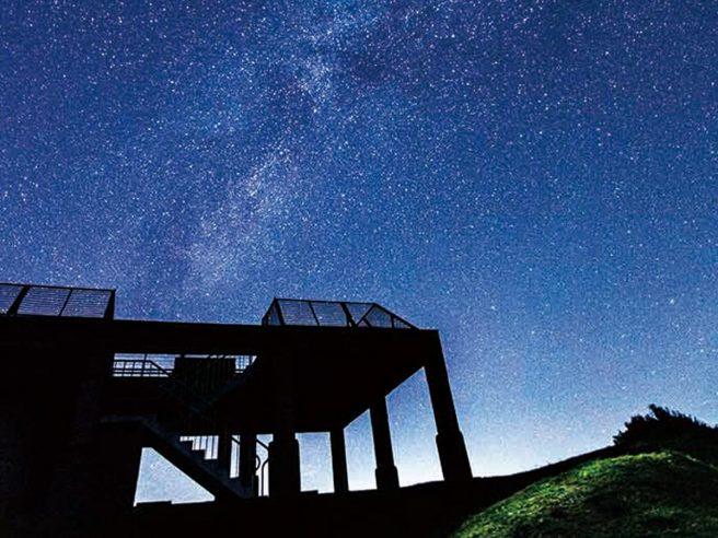 カルスト展望台 星