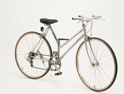 年寄りは冬でも自転車